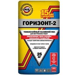 Юнис Горизонт-2 ( наливной пол ) 25 кг., фото