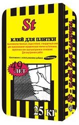 Клей для плитки ST, фото