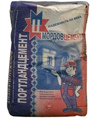 Фото - Мордов Цемент М-400 50 кг