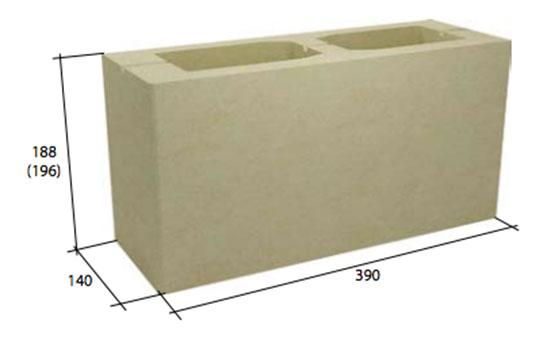 Фото - Пустотелый стеновой бетонный блок СКЦ-14Л плотность 1300
