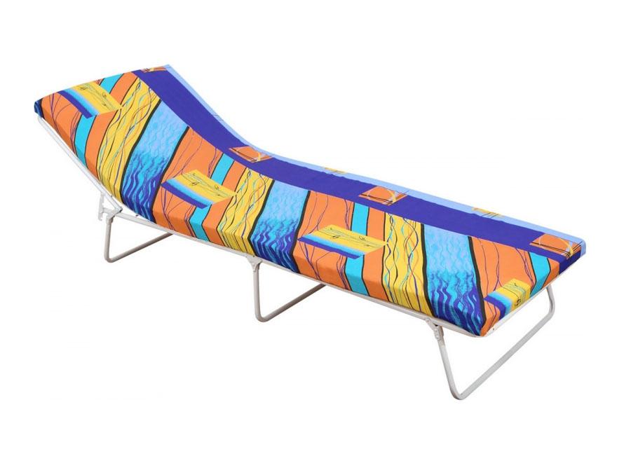 Фото - Раскладушка с матрасом (кровать-тумба)