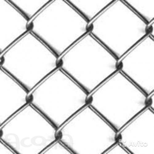 Фото - Сетка рабица 1,5х10м 2мм (ячейки 50х50)