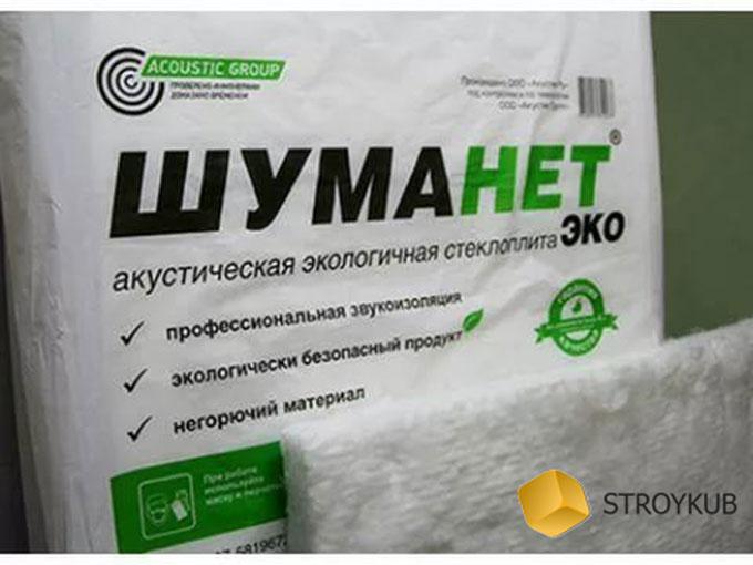 Фото - Шуманет СК ЭКО 1250*600*50(3м2)(0,15м3)