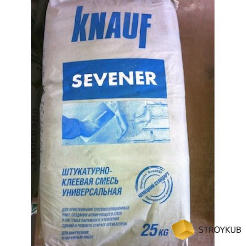 Фото - Кнауф Севенер для XPS и каменной ваты (25кг)(36шт\под)(6м2)
